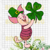 Piglet St patrick's day Cutting Files For Cricut, SVG, DXF, EPS, PNG Instant Download