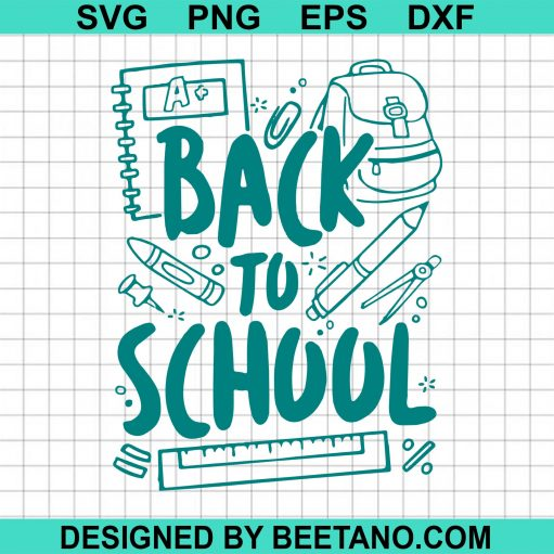 Back to school svg