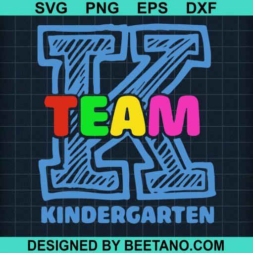 Kindergarten Team svg