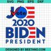 Vote joe 2020 biden president svg