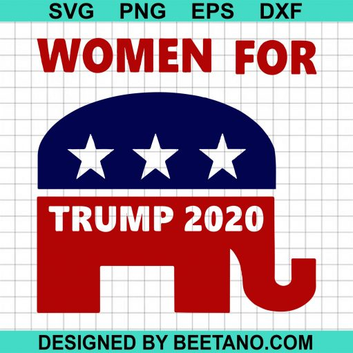 Woman For Trump 2020 svg