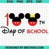 100th Day of School SVG