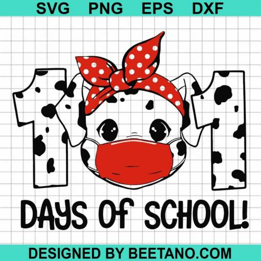 101 Days of School SVG