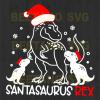 Santasaurus Rex Svg, Santasaurus Rex Svg Files, Santasaurus Rex Cutting Files, Santasaurus Rex For Cricut, SVG, DXF, EPS, PNG Instant Download