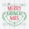 Merry Grinch Mas Svg, Christmas Grinch Svg, Grinch Svg Files, Grinch Cutting Files For Cricut, SVG, DXF, EPS, PNG Instant Download