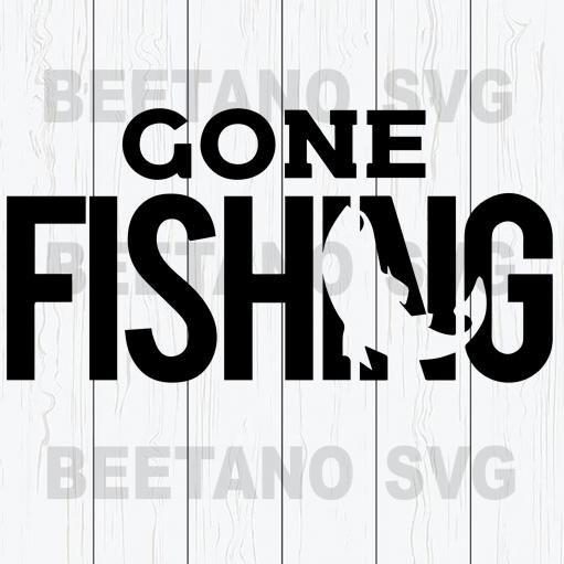 Gone fishing Cutting