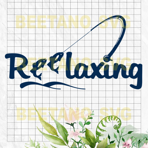 Relaxing Cutting Files For Cricut, SVG, DXF, EPS, PNG Instant Download