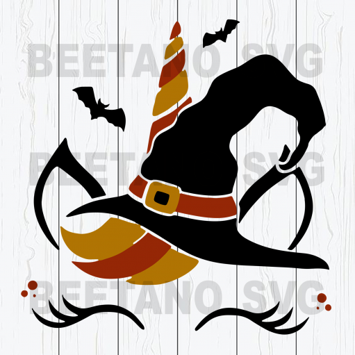 Wizard unicorn Cutting Files For Cricut, SVG, DXF, EPS, PNG Instant Download