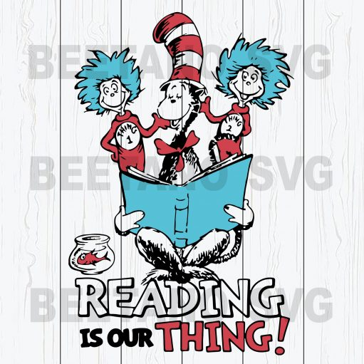 Dr Seuss Reading Is Out Thing
