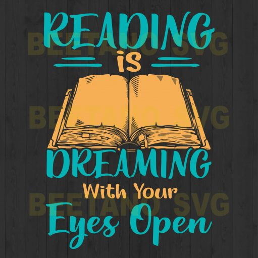 Reading Is Dreaming With Your Eyes Open