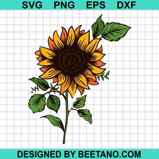 Sunflower SVG, Sunflower high quality SVG cut files for cricut handmade items
