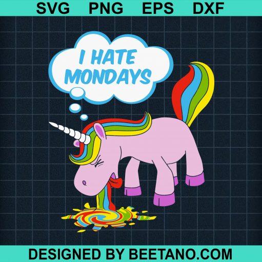 I Hate Mondays Unicorn