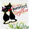 We are perfect together Cutting Files For Cricut, SVG, DXF, EPS, PNG Instant Download