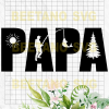 Papa Cutting Files For Cricut, SVG, DXF, EPS, PNG Instant Download