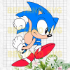 Sonic svg, sonic clipart, sonic svg, sonic cutting file, sonic file for cricut, sonic vector Cutting Files For Cricut, SVG, DXF, EPS, PNG Instant Download