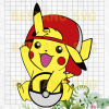 Pikachu Svg, Pikachu Cricut, Pikachu Vector, Pikachu Clipart, Pokemon Svg Files, Pikachu Cutting Files For Cricut, SVG, DXF, EPS, PNG Instant Download