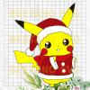 Santa Pikachu Svg, Cute Santa Pikachu Files, Santa Pikachu Cricut, Santa Pikachu Vector, Pikachu Santa Cutting Files For Cricut, SVG, DXF, EPS, PNG Instant Download