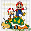 Super Mario Character Svg,  Super Mario Clipart,  Super Mario Cutting Files,  Super Mario Vector,  Super Mario Files,  Super Mario Cutting Files For Cricut, SVG, DXF, EPS, PNG Instant Download