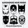 SuperHeroes Wear Masks Svg, Nurse Are Superheroes Svg Files, Superheroes Bundle Svg