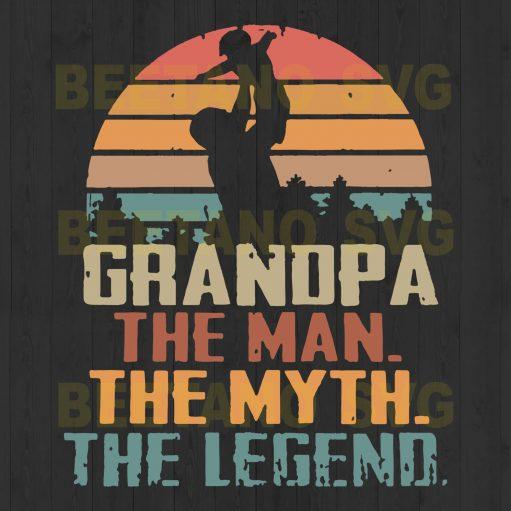 Grandpa The Man The Myth The Legend