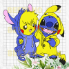 Pika Lilo Stitch Friend Svg, Pikachu And Lilo Stitch Svg, Pikachu Svg, Lilo Stitch Svg, Friend Svg, Pikachu And Lilo Stitch Cutting Files For Cricut, SVG, DXF, EPS, PNG Instant Download