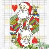 Santa Christmas Svg, Santa Svg, Santa Vector, Christmas Svg Files, Santa Clipart, Santa Cutting Files For Cricut, SVG, DXF, EPS, PNG Instant Download