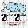 The Year When Sh#t Got Real Elephant Svg Files, Elephant Svg Files, Elephant 2020 Cutting Files