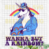 Wanna Buy A Rainbow Unicorn Svg, Unicorn Svg Files, Wanna Buy A Rainbow Unicorn Clipart, Funny Unicorn Svg, Wanna Buy A Rainbow Unicorn Cutting Files For Cricut, SVG, DXF, EPS, PNG Instant Download