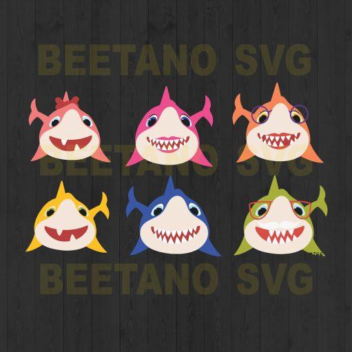 Baby Shark Bundle Svg