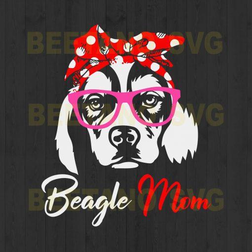 Beagle Mom Cutting Files For Cricut