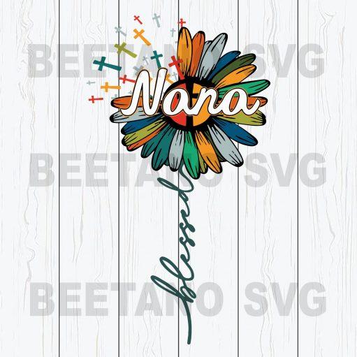 Blessed Nana Svg Files