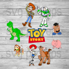 Toy story christmas svg, toy story character bundle svg, toy story Woody, Buzz Lightyear svg vector png for cricut t shirt - BeetanoSVG Scalable Vector Graphics