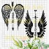 Angel wings Cutting Files