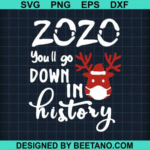 2020 You'll Go Down In History Christmas