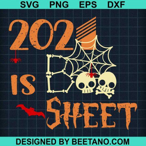 2021 Boo Sheet Skull Skeleton