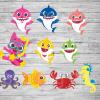 Baby Shark Family SVG,