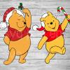 Winnie the Pooh Christmas SVG, Winnie the Pooh PNG DXF Cutting Files, Christmas svg, Winnie the Pooh Svg files, Pooh svg, Winnie the Pooh Santa Hat Cutting File