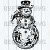 Snowman Svg, Mandala Snowman Svg Files, Snowman Christmas Svg, Mandala Snowman Cutting Files, Mandala Snowman Cutting Files For Cricut, SVG, DXF, EPS, PNG Instant Download