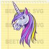 Funny Unicorn Svg, Unicorn Svg Files, Unicorn Clipart, Unicorn Vector, Unicorn Cutting Files For Cricut, SVG, DXF, EPS, PNG Instant Download