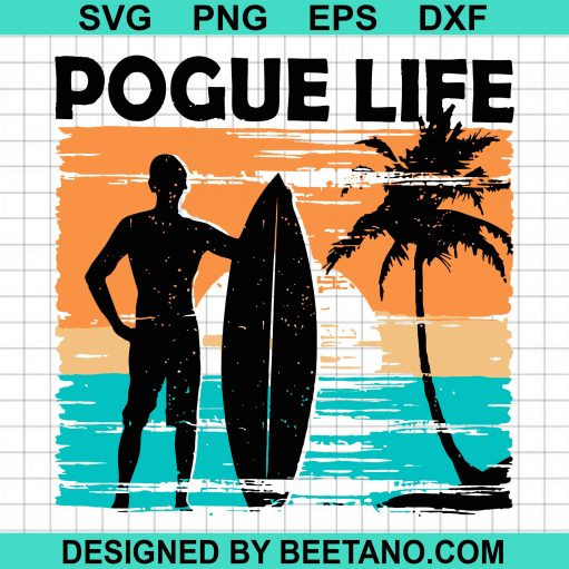 Pogue Life Svg