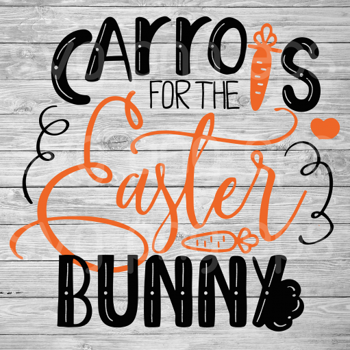 Carros for the easter bunny svg