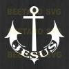 Anchor Jesus Svg