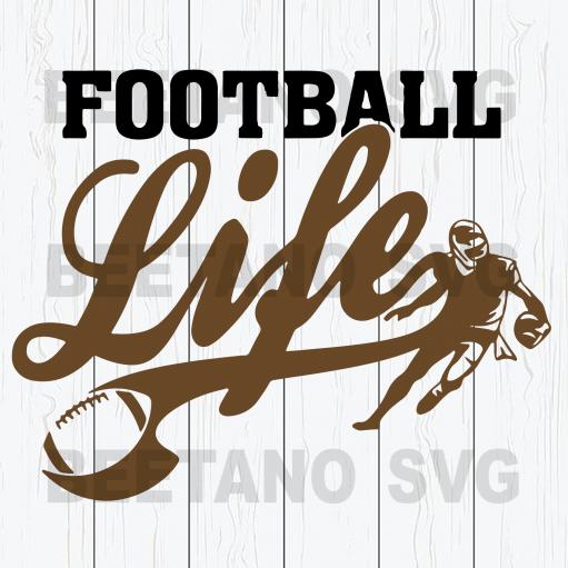 Football Life Svg