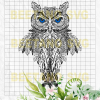 Mandala Owl Svg Files, Mandala Owl Vector, Mandala Owl Clipart, Mandala Owl Cricut Files, Mandala Owl Cutting Files For Cricut, SVG, DXF, EPS, PNG Instant Download