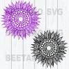 Mandala Flowers Svg Bundle, Mandala Sunflowers Files, Mandala Sunflowers Cutting Files For Cricut, SVG, DXF, EPS, PNG Instant Download