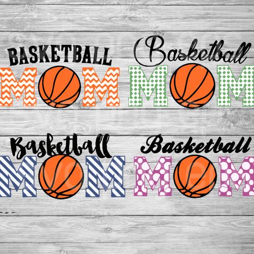 Basketball mom svg files
