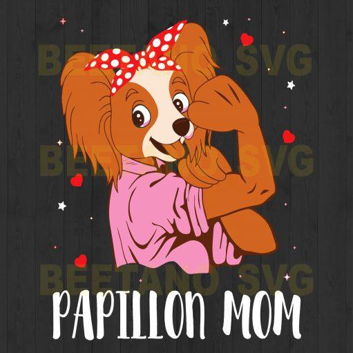 Papillion Mom Svg Files, Mother Svg, Mom Svg Files, Papillion Files For Instant Download