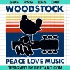 Woodstock Peace Love Music