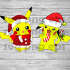 Pikachu Santa SVG, Christmas Pikachu, Santa Svg, Pokemon SVG, Pokemon Cutting Files, Pikachu Christmas Svg Bundle