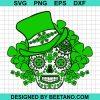 St Patrick Day Skull 2021